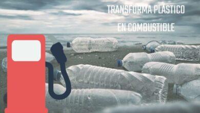Photo of Transformando plástico en combustible