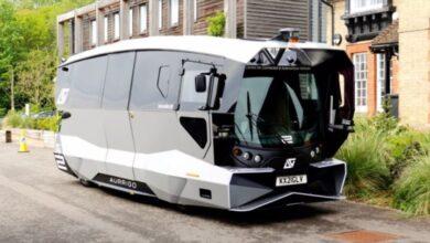 Photo of El autobús autónomo que ya circula por Cambridge