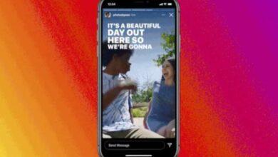 Photo of Llegan los subtítulos en las Stories de Instagram a modo de stickers