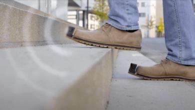 Photo of Así son los zapatos que ayudan a los invidentes a evitar obstáculos