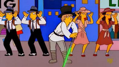 Photo of Los Simpson: 5 de las mejores referencias a Star Wars