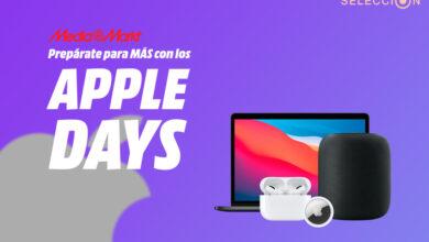 Photo of Apple Days de MediaMarkt: HomePod por 299 euros, AirTag, MacBook M1, iPad Air y más dispositivos en oferta
