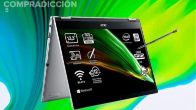 Photo of Este convertible con procesador i3 está a precio mínimo en Amazon: Acer Spin 3 SP313-51N por 649,99 euros