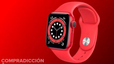 Photo of Ahora el de 44mm: Amazon te deja el Apple Watch Series 6 (PRODUCT)RED por 60 euros menos