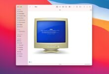 Photo of El troleo continúa: Apple insiste en usar un monitor CRT con una BSOD para identificar los PC con Windows en macOS Monterey