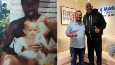 Photo of El robado a Magic Johnson con un bebé que dio lugar a la 'startup' de vídeos de famosos personalizados de la que ahora es directivo