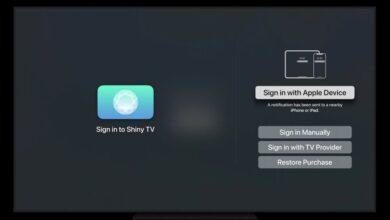 Photo of tvOS 15 nos permitirá iniciar sesión en aplicaciones usando Face ID o Touch ID desde un iPhone