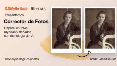 Photo of MyHeritage ya permite arreglar desperfectos en las fotos antiguas con un solo clic