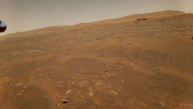 Photo of El accidentado sexto vuelo del helicóptero Ingenuity en Marte