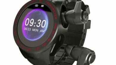 Photo of Un reloj inteligente que también aloja sus propios auriculares inalámbricos