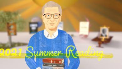 Photo of Bill Gates recomienda sus cinco libros favoritos en lo que va de 2021