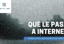 Photo of Cómo afecta el mal tiempo a tu conexión de Internet