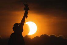 Photo of Eclipse solar 2021: estas son las fotos más extraordinarias del anillo de fuego