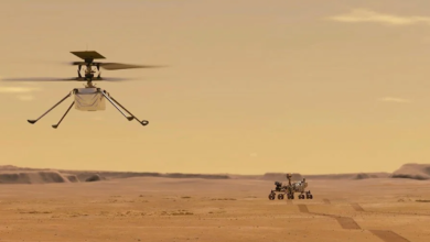 Photo of La NASA muestra el tercer vuelo del Ingenuity en 3D y es una belleza