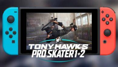 Photo of Tony Hawk 1+2 también es un agrado en Nintendo Switch