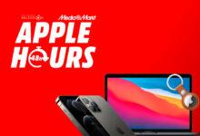 Photo of iPhone 12 de 128 GB a 799 euros, iPad Air (2020) a 579 euros, descuentos en AirTag y más ofertas en las Apple Hours de MediaMarkt