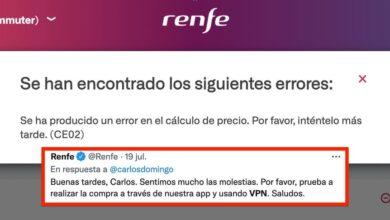 Photo of Usar VPN y cambiar la hora: la esperpéntica solución que da Renfe si la web no te deja comprar billetes desde fuera de España