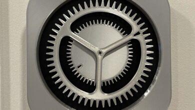 Photo of Alguien ha hecho un reloj de verdad utilizando el icono de los Ajustes del iPhone y es maravilloso