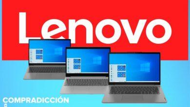Photo of 7 portátiles Lenovo con procesadores Intel y AMD que puedes comprar más baratos en Amazon con descuentos de hasta 120 euros