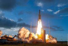 Photo of El Ariane 5 supera un lanzamiento «de prueba» para el del telescopio espacial James Webb