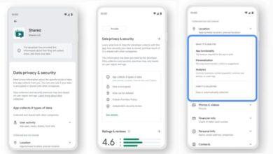 Photo of La nueva sección de Google Play te mostrará qué datos recopilan las apps