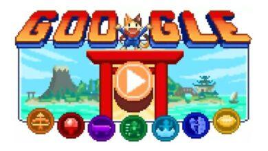 Photo of Google presentó un juego como doodle, por los Juegos Olímpicos de Tokio 2020