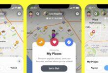 Photo of Snapchat ofrecerá recomendaciones personalizadas sobre lugares a visitar