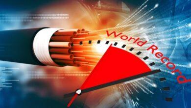 Photo of Nuevo récord mundial de velocidad de Internet utilizando fibra óptica
