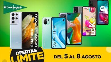Photo of Ofertas en smartphones iPhone, LG, OPPO, Samsung o Xiaomi este fin de semana en el Límite 48 Horas de El Corte Inglés