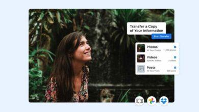 Photo of Facebook ya permite transferir contenidos a PhotoBucket y Google Calendar