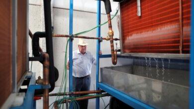 Photo of ¿Cómo convertir aire en agua potable? Este ingeniero tiene la solución
