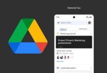 Photo of Así son los nuevos widgets de Google Drive con Material You