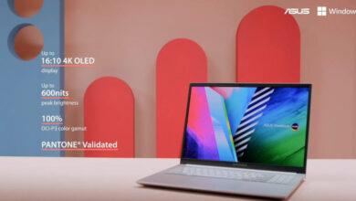 Photo of Asus presenta nuevas notebooks con pantallas OLED