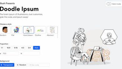 Photo of Doodle Ipsum es una especie de Lorem Ipsum para crear ilustraciones «de relleno» para pruebas de diseño