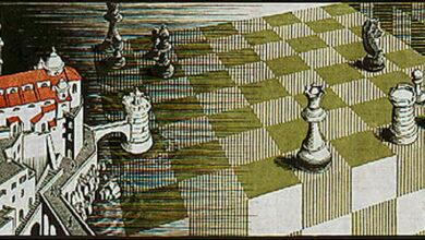 Photo of La curiosa posición del tablero de ajedrez de Metamorfosis II, el grabado de M.C. Escher
