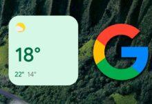 Photo of Los widgets del tiempo de Google llegan a Android 12: así se ven en los escritorios