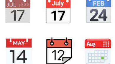 Photo of La curiosa historia de las distintas fechas en los emojis del calendario de diferentes sistemas
