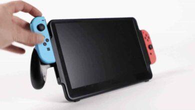 Photo of Una pantalla más grande para la Nintendo Switch